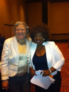 Me and Best Selling Author, Lisa Nichols